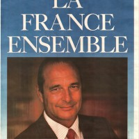 Présidentielle 1988 - La France ensemble