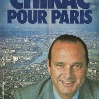 Municipales de Paris en 1977 - Chirac pour paris